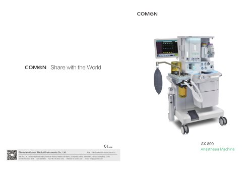 Anesthesia Machine AX-800