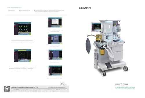 Anesthesia Machine AX series