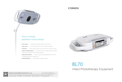 Infant Phototherapy Equipment BL70