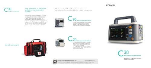 Multi-parameter ECG monitor C30