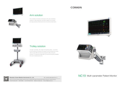 Multi-parameter ECG monitor  NC19