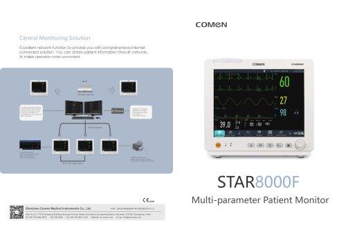 Multi-parameter RESP monitor STAR8000 series