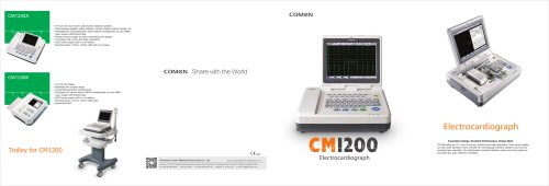 Resting electrocardiograph CM1200