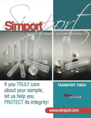 Transport Tubes T550 Collection