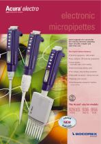electronic micropipettes