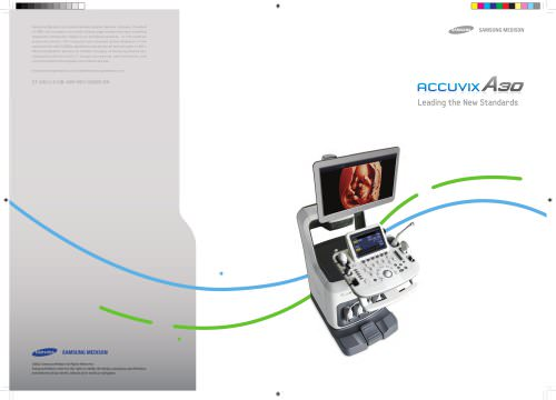 ACCUVIX A3O Leading the New Standards