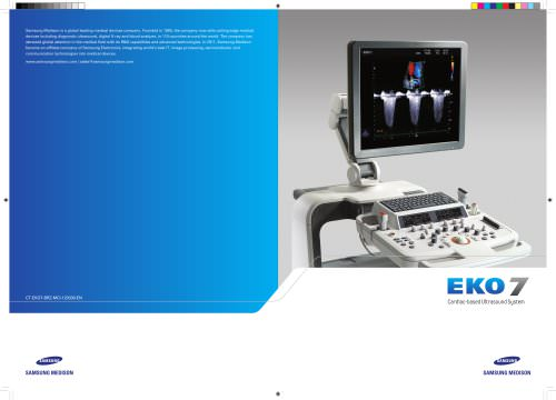 EK0 7 Cardiac-based Ultrasound System
