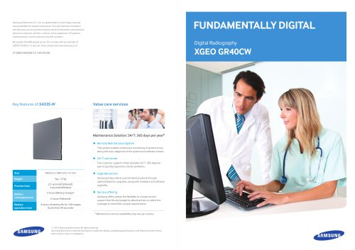 Fundamentally Digital, XGEO GR40CW