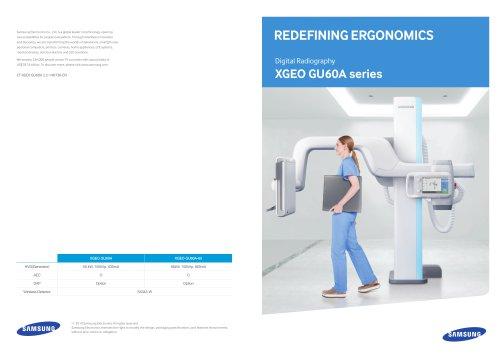 Redefining Ergonomics, XGEO GU60A series