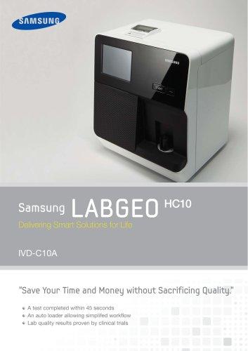 Samsung LAB6E0 Delivering Smart Solutions for Life HC10 IVD-C10A