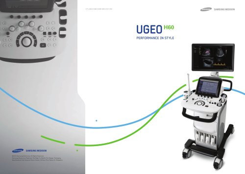 UGEO H60 PERFORMANCE IN STYLE