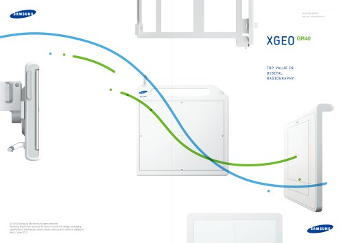 XGEO TOP VALUE IN DIGITAL RADIOGRAPHY GR40