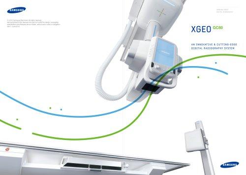 XGEOGC80 AN INNOVATIVE & CUTTING-EDGE DIGITAL RADIOGRAPHY SYSTEM