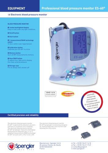 Digital sphygmomanometer ES60