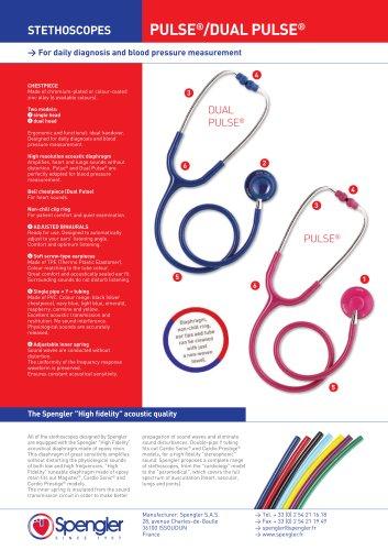 Dual Pulse Stethoscope