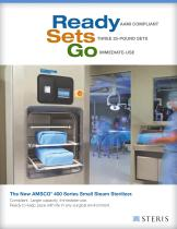 AMSCO® 400 Series Small Steam Sterilizer