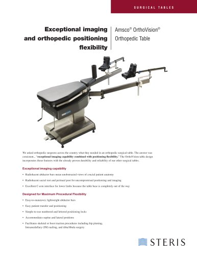 Amsco® OrthoVision® Orthopedic Surgical Table