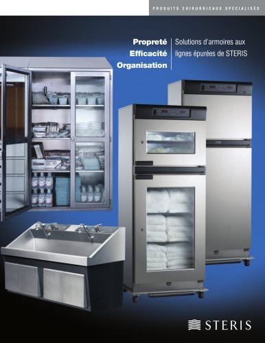 CLEAN, EFFICIENT, ORGANIZED: STREAMLINED STAINLESS STEEL SOLUTIONS FROM STERIS-FRENCH CANADIAN