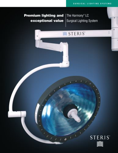Harmony® LC Surgical Lighting System - STERIS - PDF Catalogs