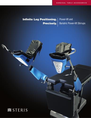 Power-lift and Bariatric Power-lift Stirrups