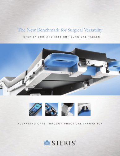 STERIS® 5085 AND 5085 SRT SURGICAL TABLES