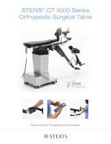 STERIS® OT 1000 Series Orthopedic Surgical Table