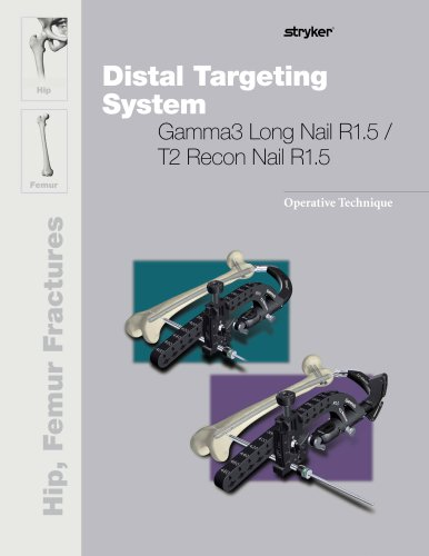 Distal Targeting System - Gamma3 Long Nail R1.5/T2 Recon Nail R1.5