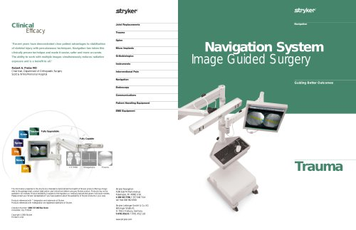 Navigation System Image Guided Surgery