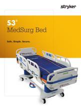 S3 MedSurg Bed - 1
