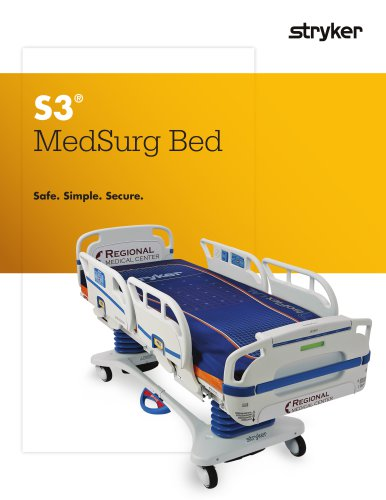 S3 MedSurg Bed Stryker PDF Catalogs Technical