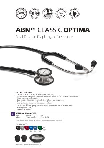 ABN Classic Optima with Dual Tunable Diaphragm