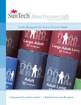 Sun Tech Blood Pressure Cuffs CLINICAL GRADE BP CUFFS