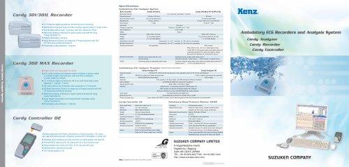 Ambulatory ECG Recorders and Analysis System