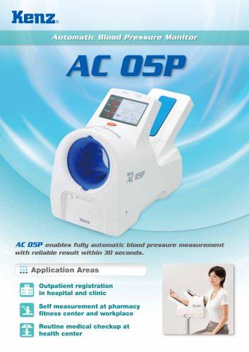 Blood pressure monitors BPM AC 05P - EN