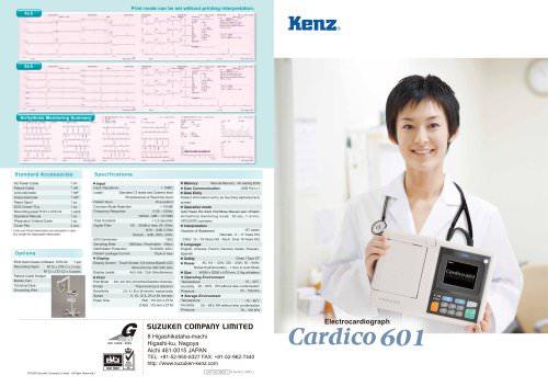 """Cardico 601 3.8"""" Monochrome LCD"""