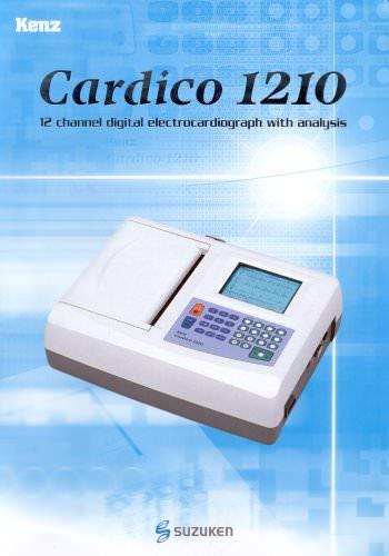 Electrocardiograph Cardico 1210 - EN