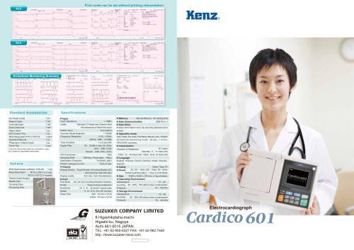 Electrocardiograph Cardico 601 - EN