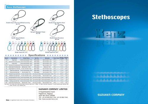 Kenz Stethoscopes