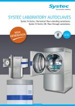 Pass-through autoclaves Systec H-Series 2D