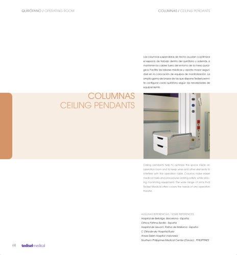 COLUMNAS - CEILING PENDANTS