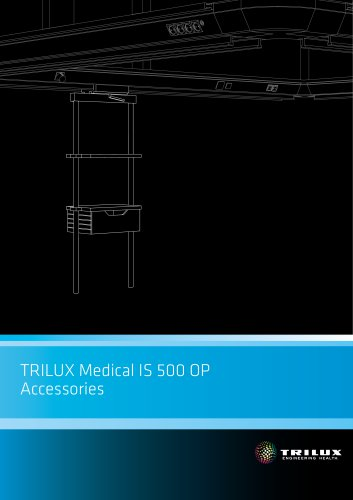 TRILUX Medical IS 500 OP - Accessories