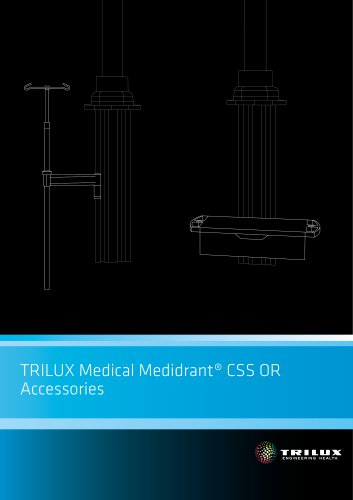 TRILUX Medical Medidrant® CSS OR - Accessories