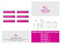 TROGE BLOOD COLLECTION BAGS
