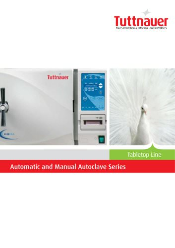 Automatic and Manual Autoclave Series - 2013