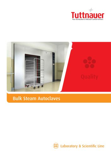 Bulk Steam Autoclaves