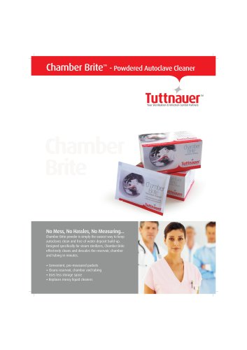 Chamber Brite - Powdered Autoclave Cleaner