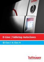 D-Line Tabletop Autoclaves - 1
