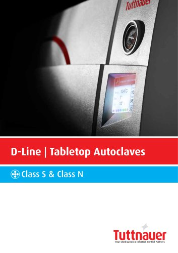 D-Line Tabletop Autoclaves