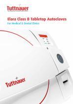 Elara Class B Tabletop Autoclaves - 1