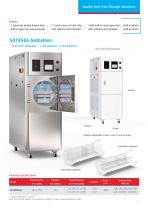 GS Double Door Hospital Autoclaves - 7